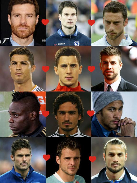 De knapste spelers van het WK 2014