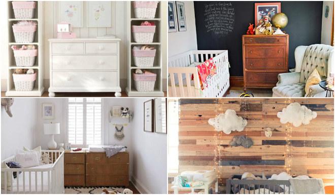 Inspirações para quartos de bebê