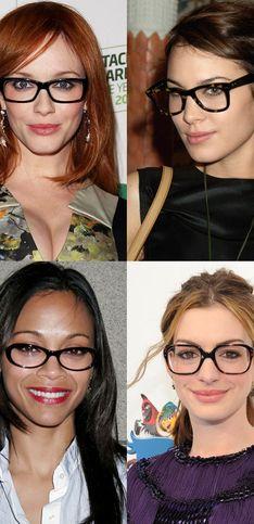 Brillen van de celebs