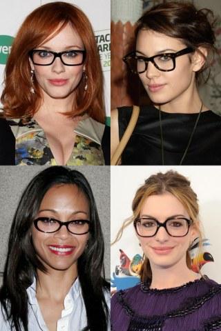 Las Celebrities Demuestran Que Las Chicas Con Gafas Son
