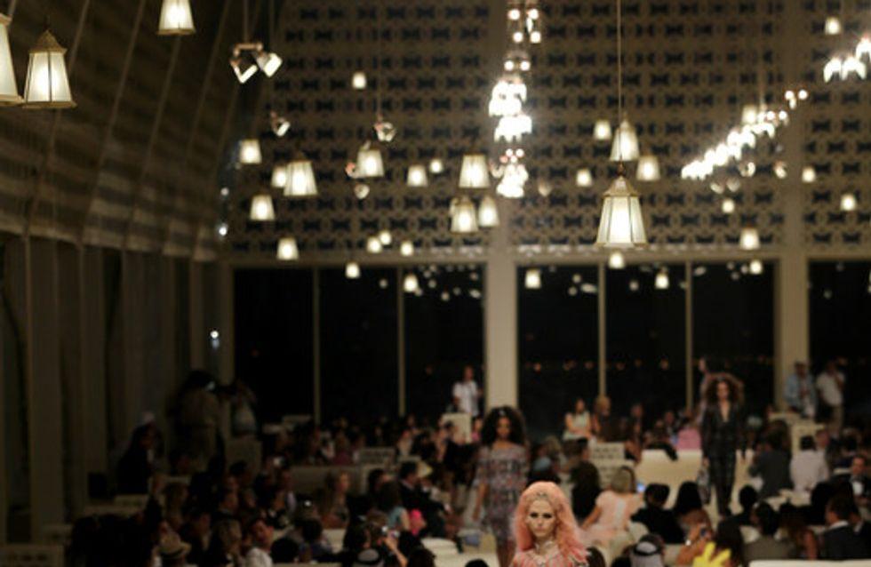 Chanel Cruise Collection 2014/2015, Dubai