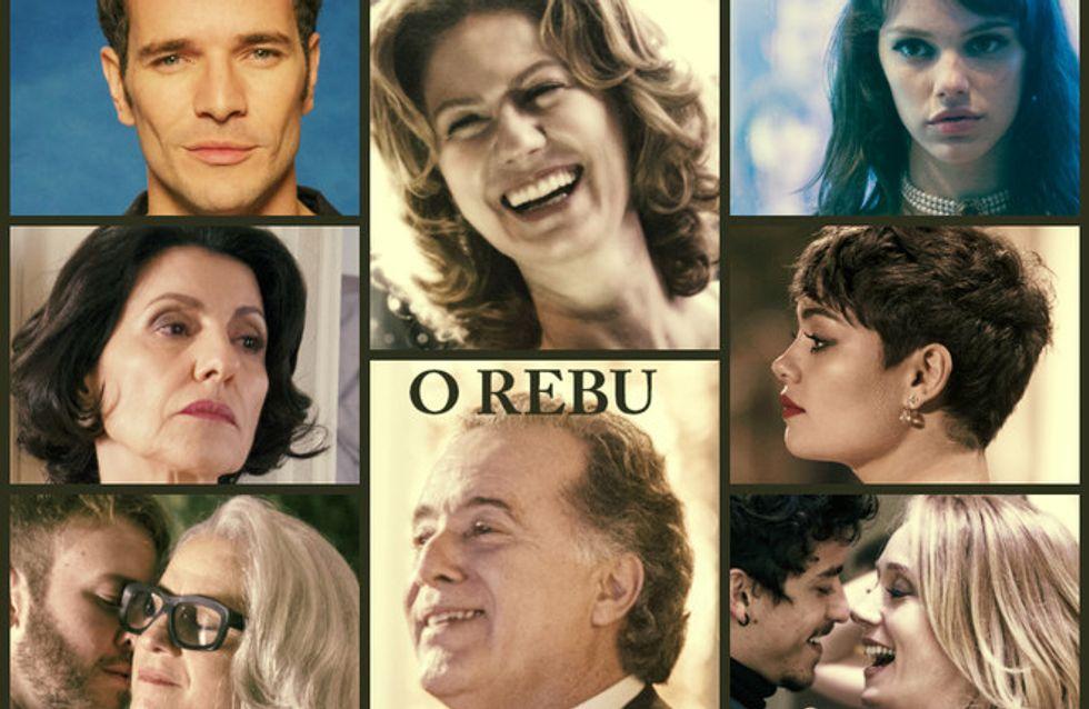 Fotos da novela O Rebu