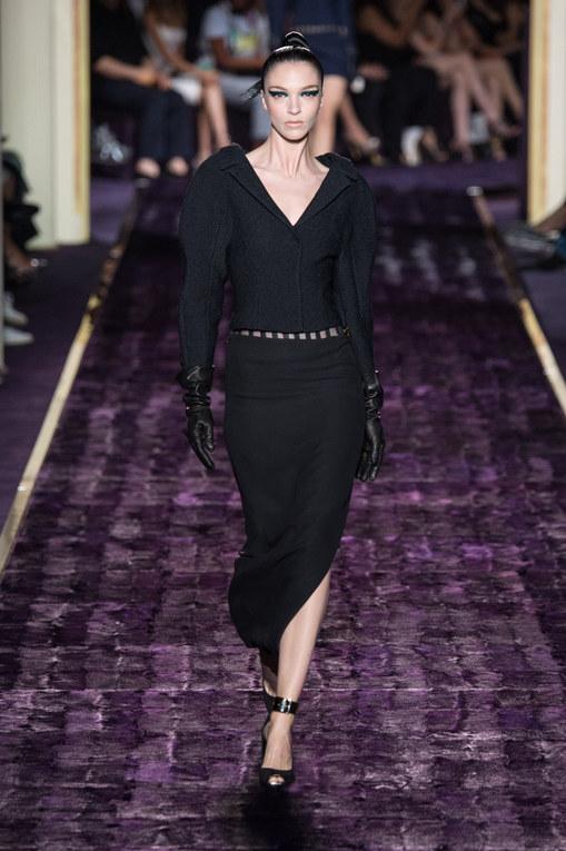 Modeshow Atelier Versace Haute Couture Herfst-Winter Parijs 2014-2015