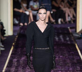 Modeshow Versace Haute Couture Herfst-Winter 2014/2015 Parijs