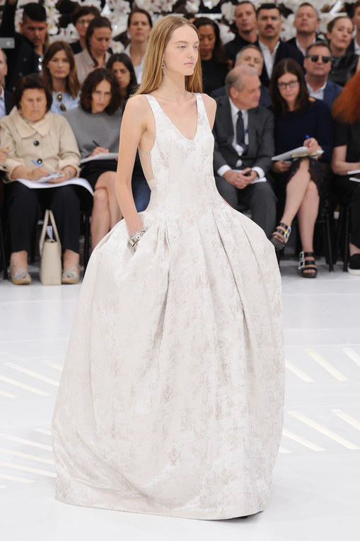 Modeshow Christian Dior Haute Couture Herfst-Winter Parijs 2014-2015