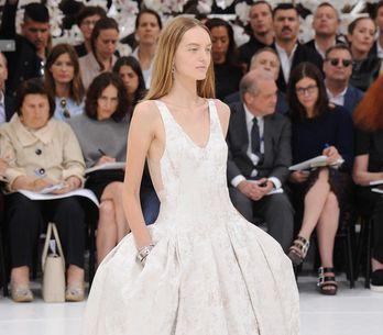 Modeshow Christian Dior Haute Couture Herfst-Winter 2014/2015 Parijs