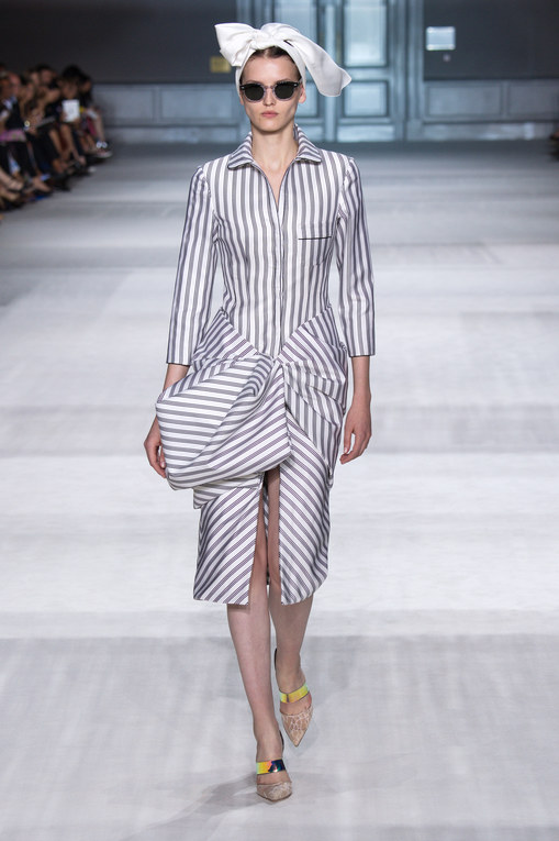 Modeshow Giambattista Valli Haute Couture Herfst-Winter Parijs 2014-2015