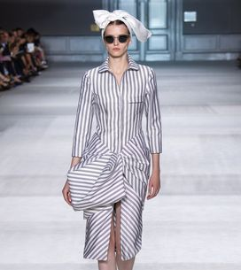 Modeshow Giambattista Haute Couture Herfst-Winter 2014/2015 Parijs