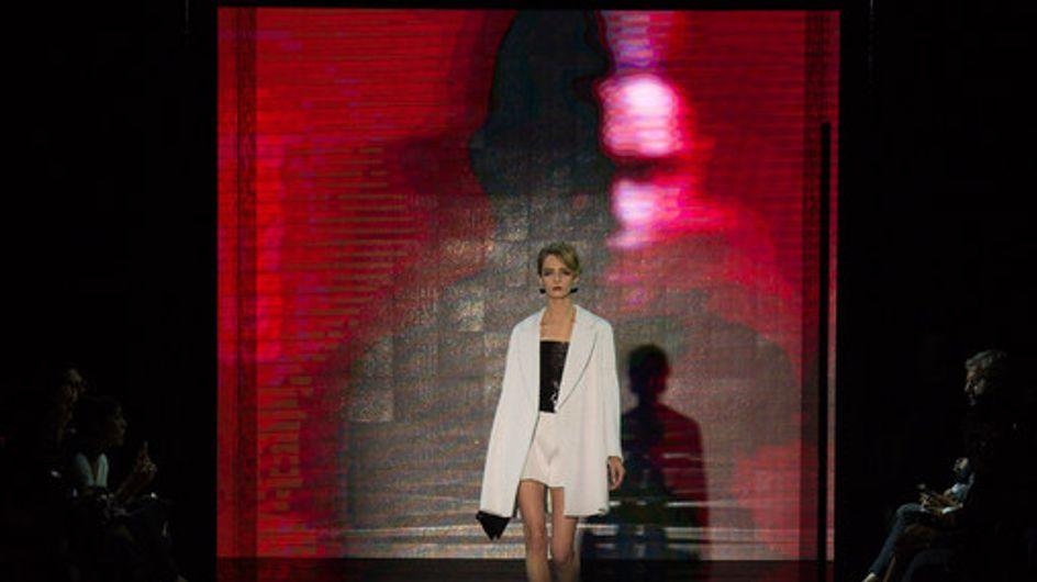 Modeshow Giorgio Armani Prive Haute Couture Herfst-Winter 2014/2015 Parijs