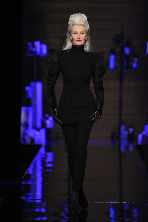 Modeshow Jean Paul Gaultier Haute Couture Herfst-Winter Parijs 2014-2015
