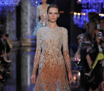 Modeshow Elie Saab Haute Couture Herfst-Winter 2014/2015 Parijs