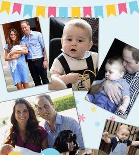 Buon Compleanno George! Tutte le foto più belle del 1° anno di vita del piccolo