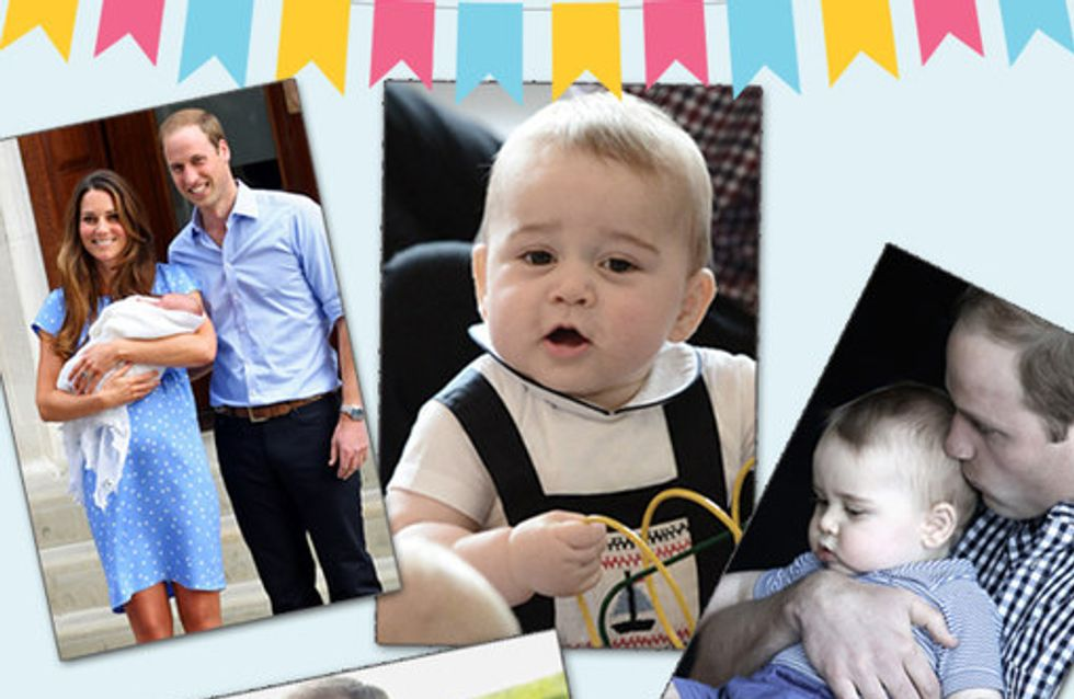 Prince George Turns 1: His Year In Pictures