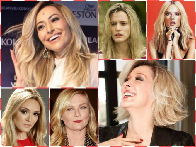 O loiro é a cor-tendência para o cabelo no verão 2015
