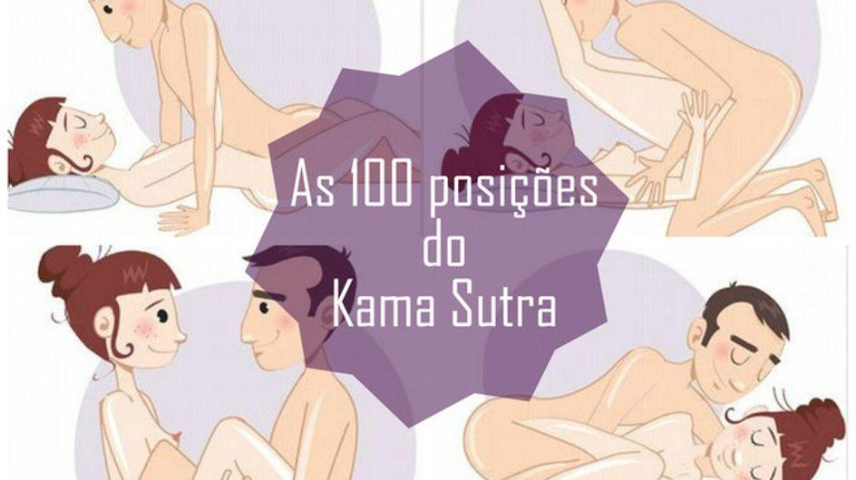 As 100 melhores posições sexuais do Kama Sutra