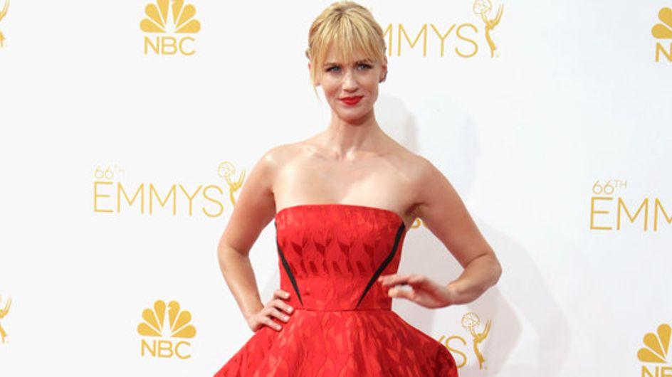 O tapete vermelho do Emmy