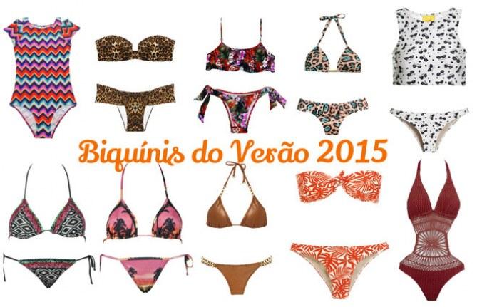 Moda Praia: Biquínis do Verão 2015