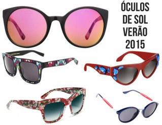 Os óculos de sol da temporada Verão 2015