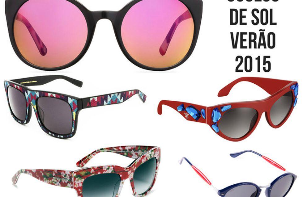 Óculos de sol do verão 2015