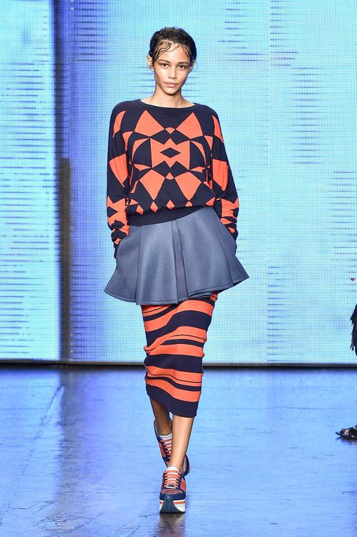 Défilé DKNY Prêt-à-Porter Printemps-Eté New York 2015