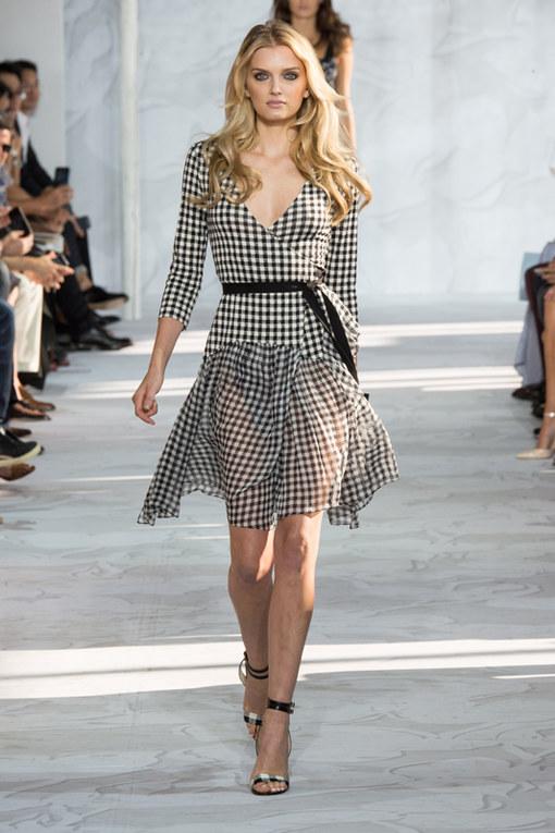 Diane Von Furstenberg New York Fashion Week primavera estate 2015