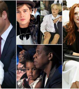 Tal pai, tal filho. As semelhanças entre os famosos e seus filhos