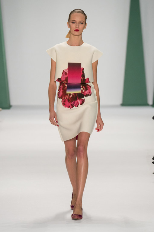 Carolina Herrera New York Fashion Week primavera estate 2015