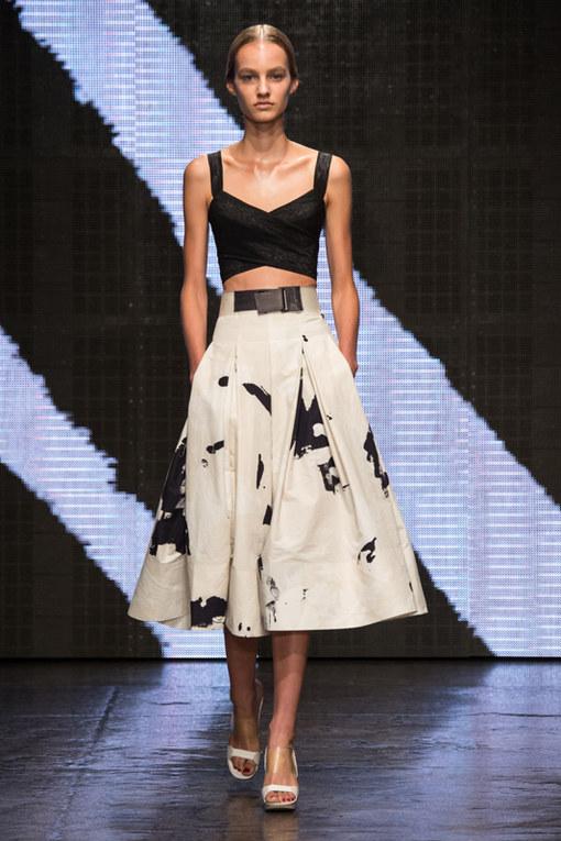 Donna Karan New York Fashion Week primavera estate 2015