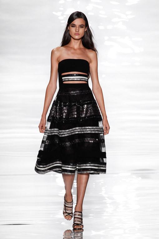 Reem Acra New York Fashion Week primavera estate 2015