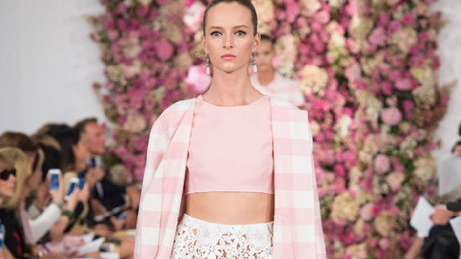 Oscar de la Renta New York Fashion Week primavera estate 2015