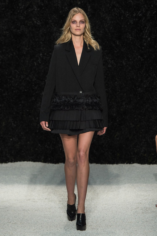 Vera Wang New York Fashion Week primavera estate 2015