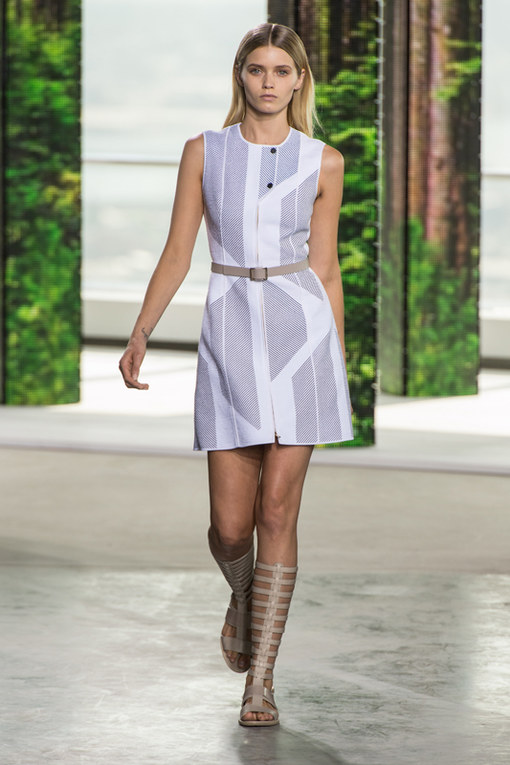 Hugo Boss New York Fashion Week primavera estate 2015