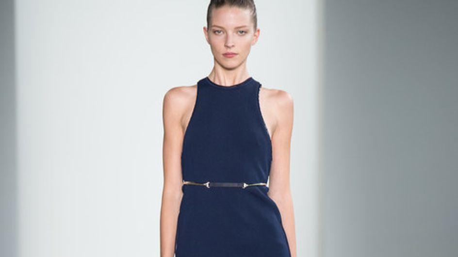 Calvin Klein Collection, smart blue