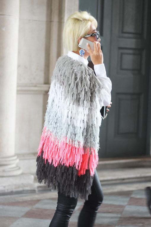 London Fashion Week Street Style Primavera Verano 2015