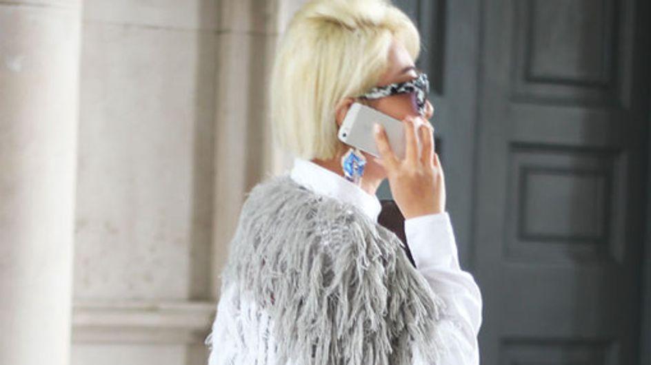 Street Style visto en London Fashion Week