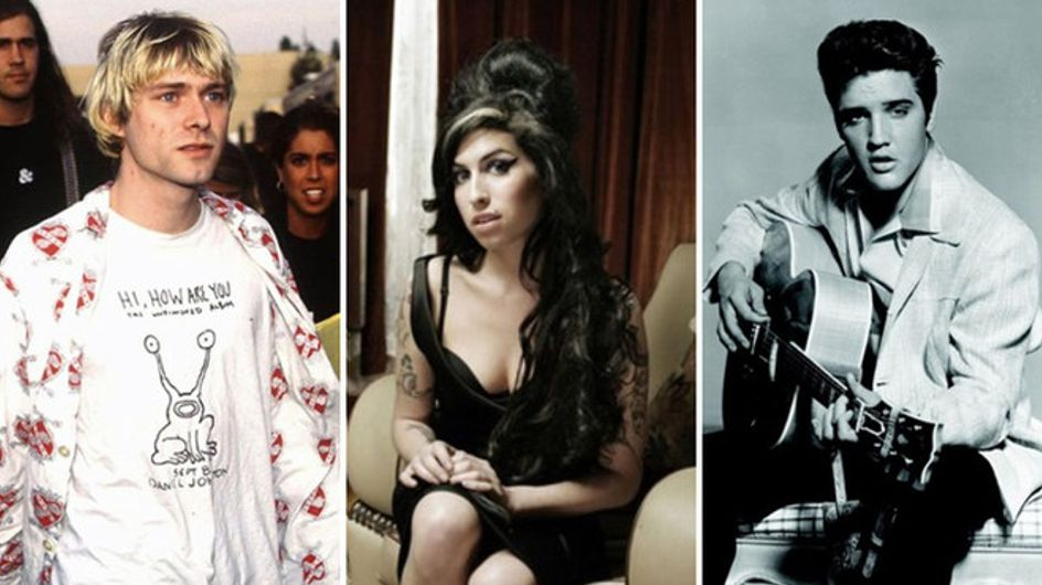 Elvis, Amy Winehouse e Whitney Houston. Quando la musica diventa leggenda