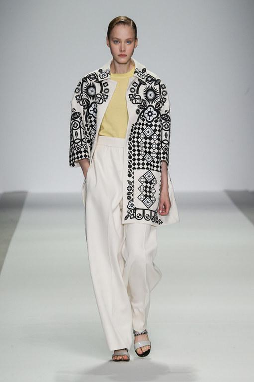 Holly Fulton London Fashion Week primavera estate 2015