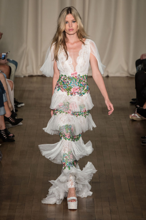 Marchesa London Fashion Week primavera estate 2015