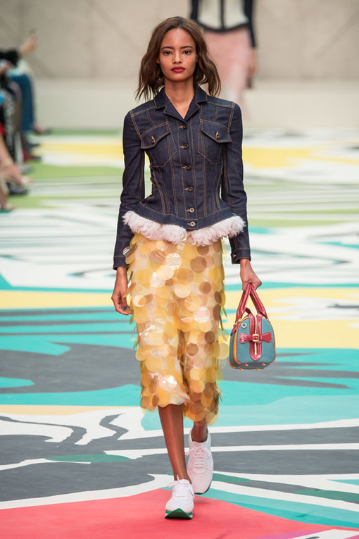 Burberry Prorsum London Fashion Week primavera estate 2015