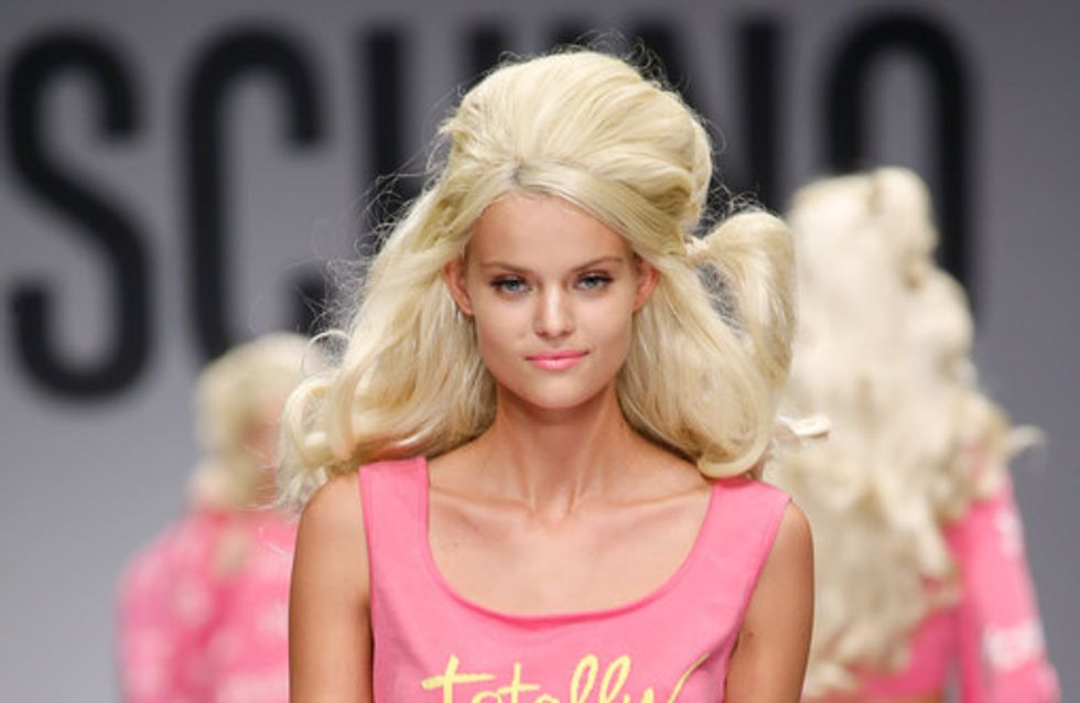 Les Barbie girls de Moschino