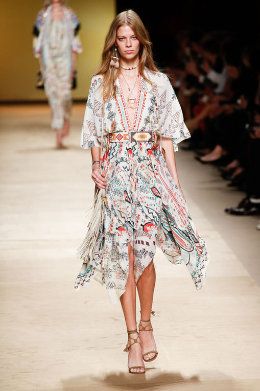 Etro Milano Fashion Week P/E 2015