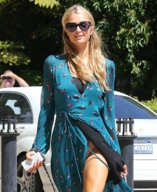 Paris Hilton - Los descuidos de nuestras famosas ¡a la vista de todos!