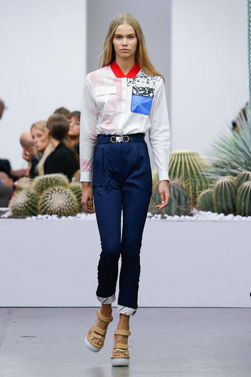 Iceberg Milano Fashion Week P/E 2015