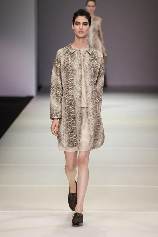 Giorgio Armani Milano Fashion Week P/E 2015