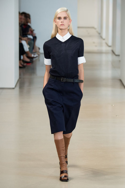 Jil Sander Milano Fashion Week P/E 2015