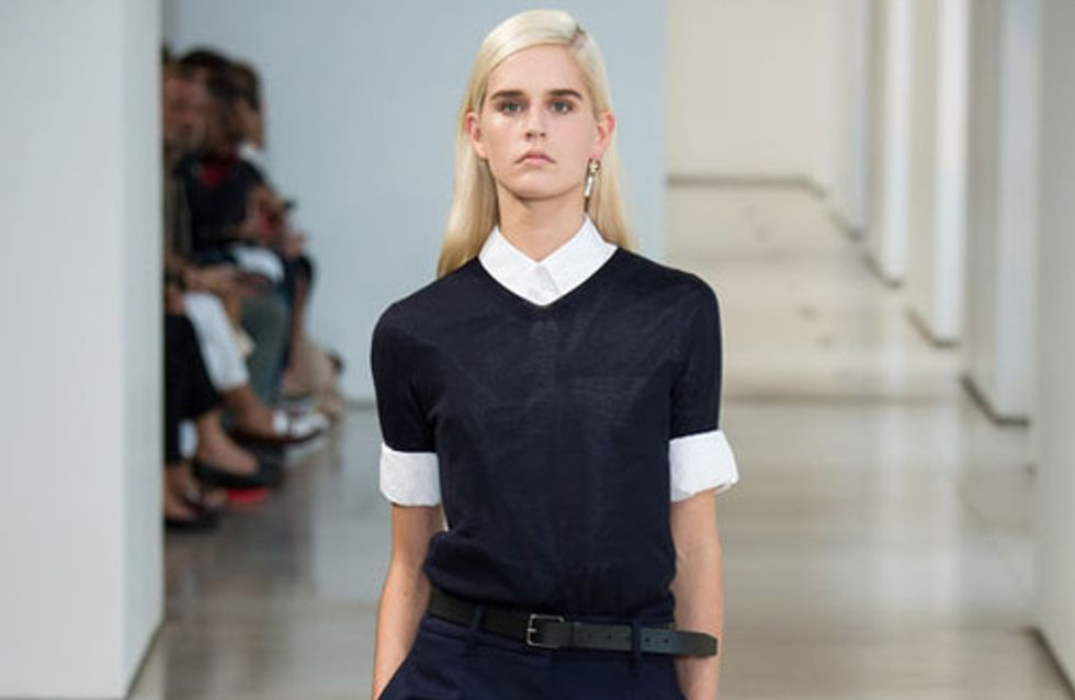 Jil Sander Milano Fashion Week primavera estate 2015