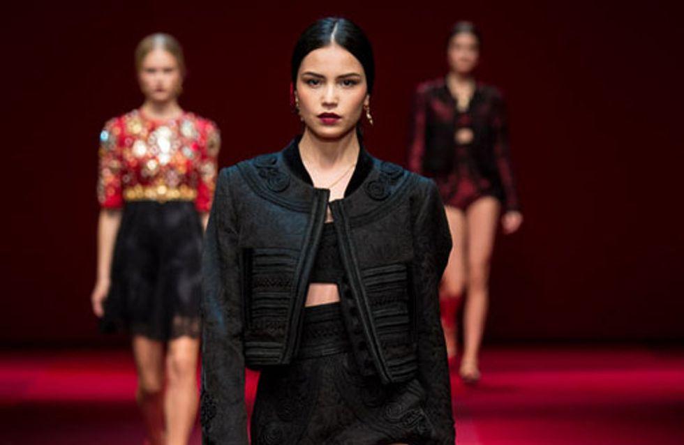 Dolce & Gabbana Milano Fashion Week Primavera Estate 2015
