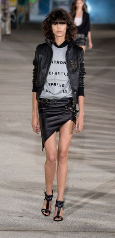 Anthony Vaccarello, collection signature