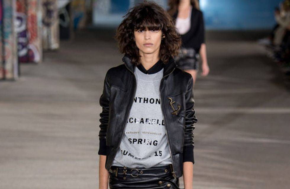 Anthony Vaccarello - París Fashion Week P/V 2015