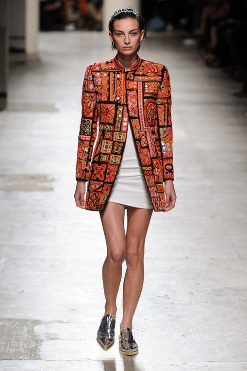 Barbara Bui Parigi Fashion Week primavera estate 2015